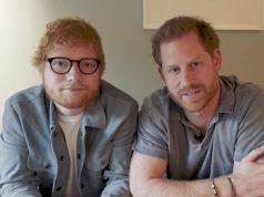 Harry y Ed Sheeran