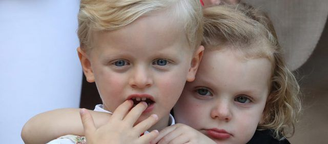 Niños de la realeza