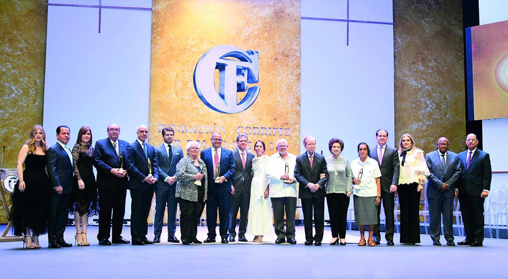 Galardonados de los Premios Fundación Corripio 2019