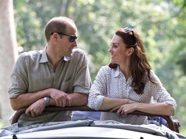 gesto de Kate Middleton