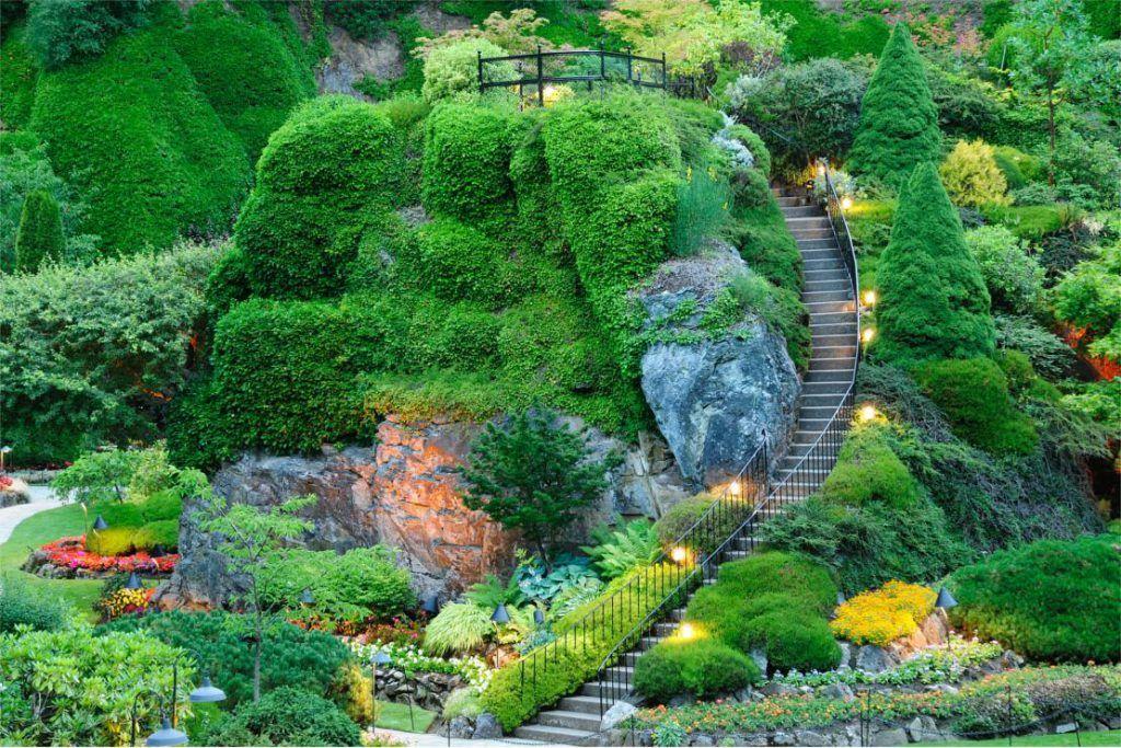 Los jardines