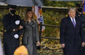 Melania Trump reaparece