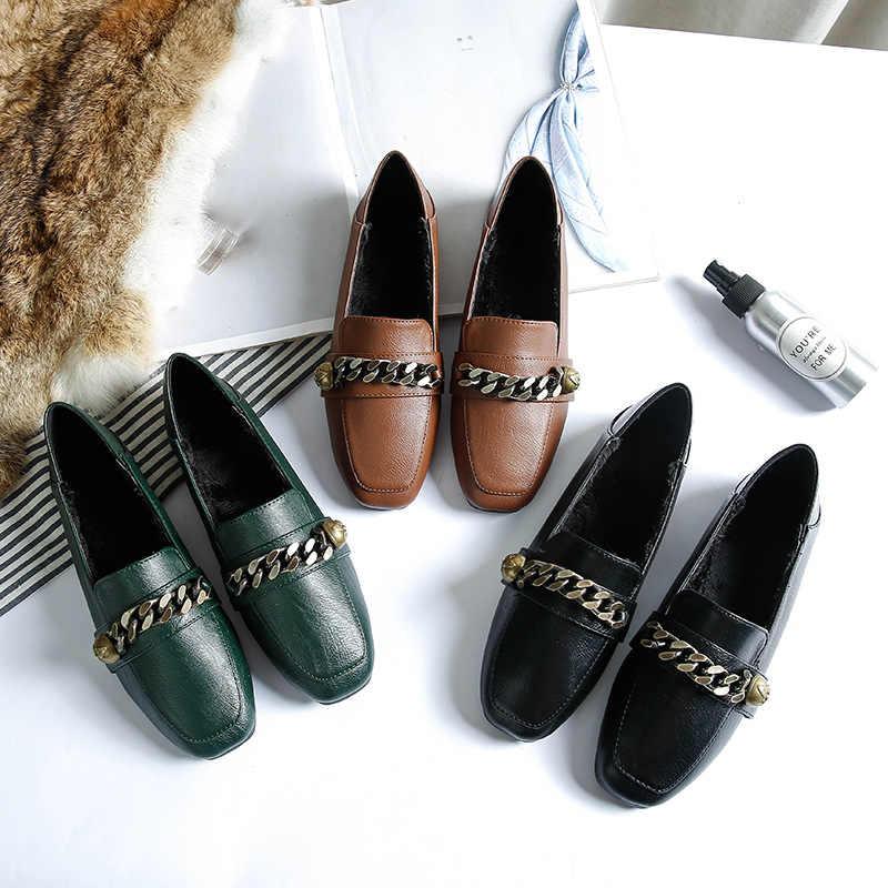 La imagen tiene un atributo ALT vacío; su nombre de archivo es Zapatos-planos-de-un-solo-felpa-decorados-con-cadena-de-metal-mocasines-de-cuero-suave-con.jpg_q50.jpg