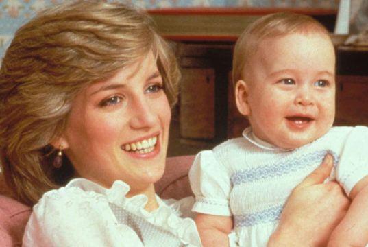 Diana embarazada