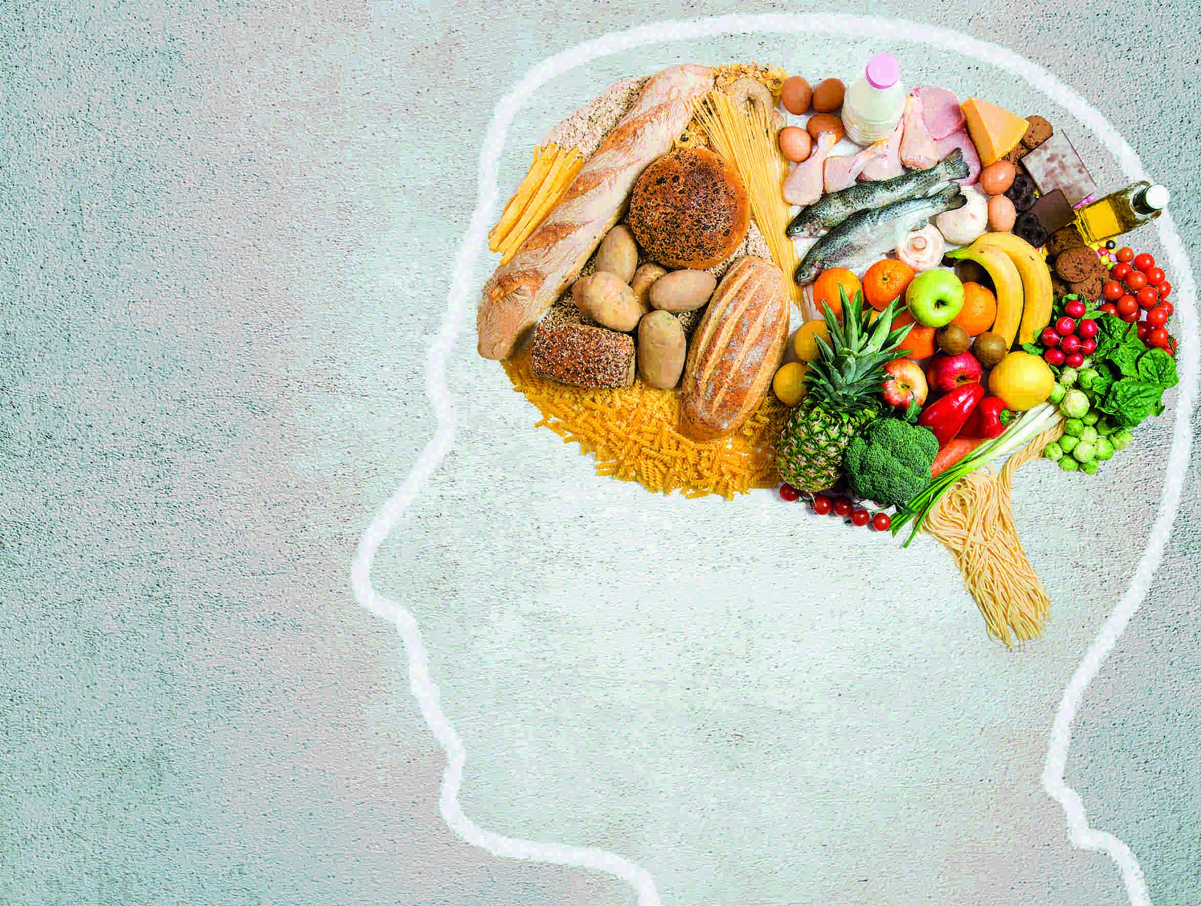 Alimentos para un cerebro saludable